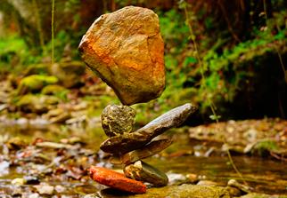Olisticmap - Stone Balancing l'arte effimera