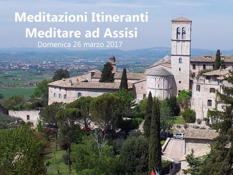 OlisticMap - Meditazioni Itineranti: Meditare ad Assisi