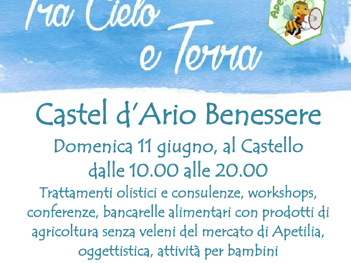 OlisticMap - Castel D'Ario Benessere - 11 Giugno 2017