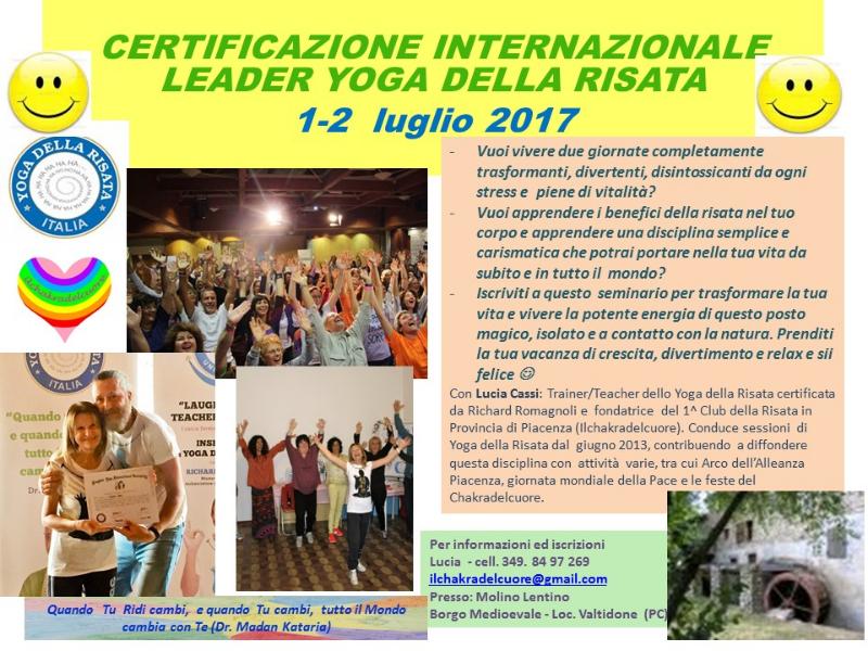 OlisticMap - Certificazione Internazionale Leader di Yoga della Risata
