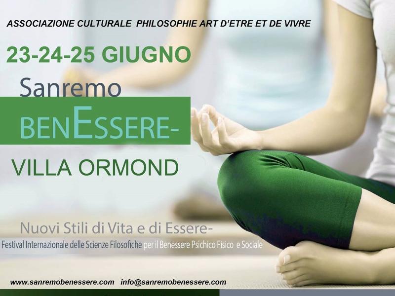 OlisticMap - Sanremo BenEssere - Festival Internazionale delle Scienze Filosofiche per il Benessere Psichico Fisico  e Sociale