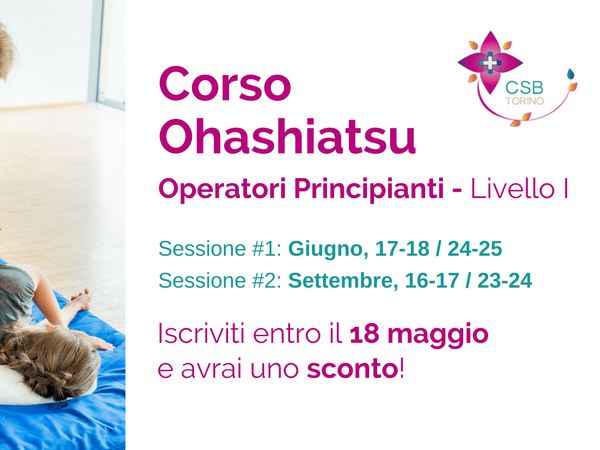 OlisticMap - Corso Principianti I- Operatori Ohashiatsu