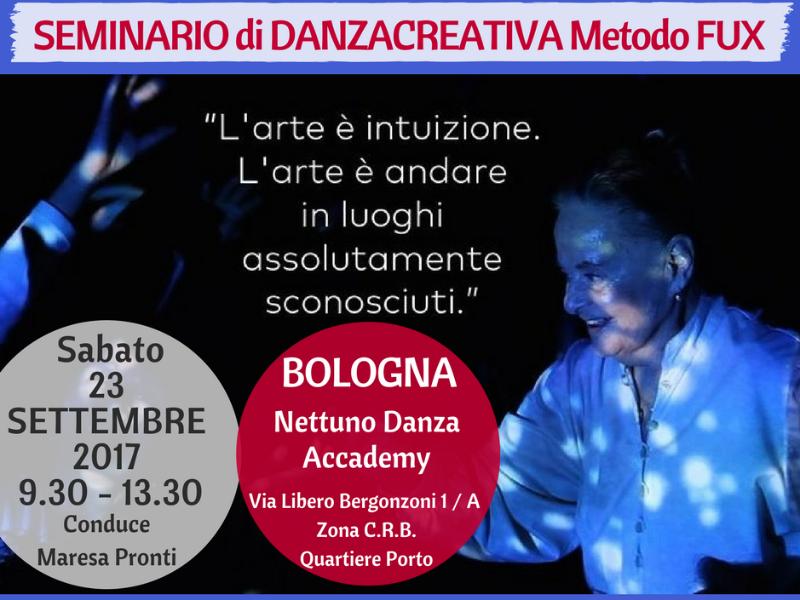 OlisticMap - Seminario in Danzacreativa danzaterapia Metodo Fux BOLOGNA