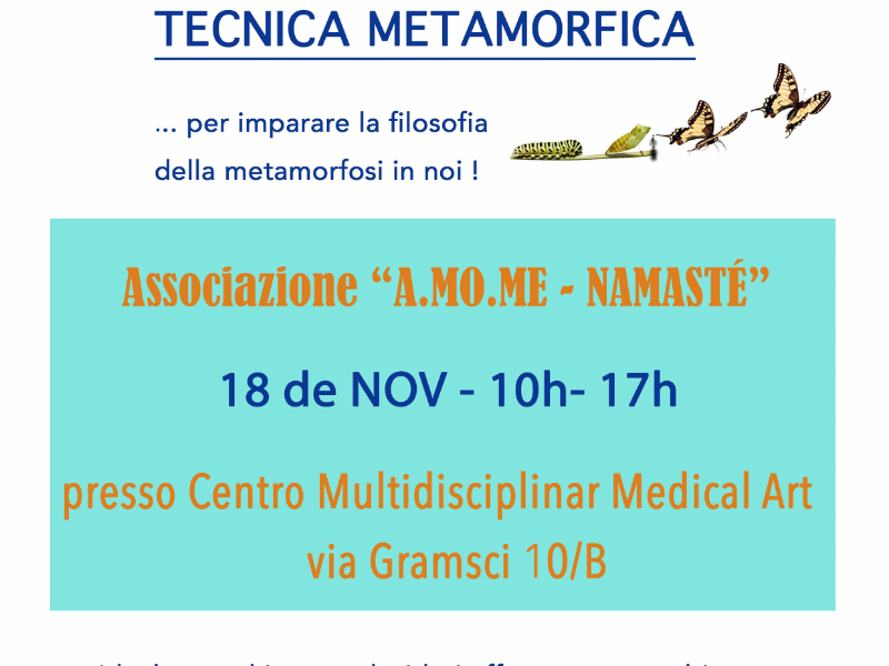 OlisticMap - WORKSHOP SULLA TECNICA METAMORFICA