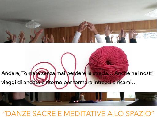 """OlisticMap - """"DANZE SACRE E MEDITATIVE A Lo spazio"""""""