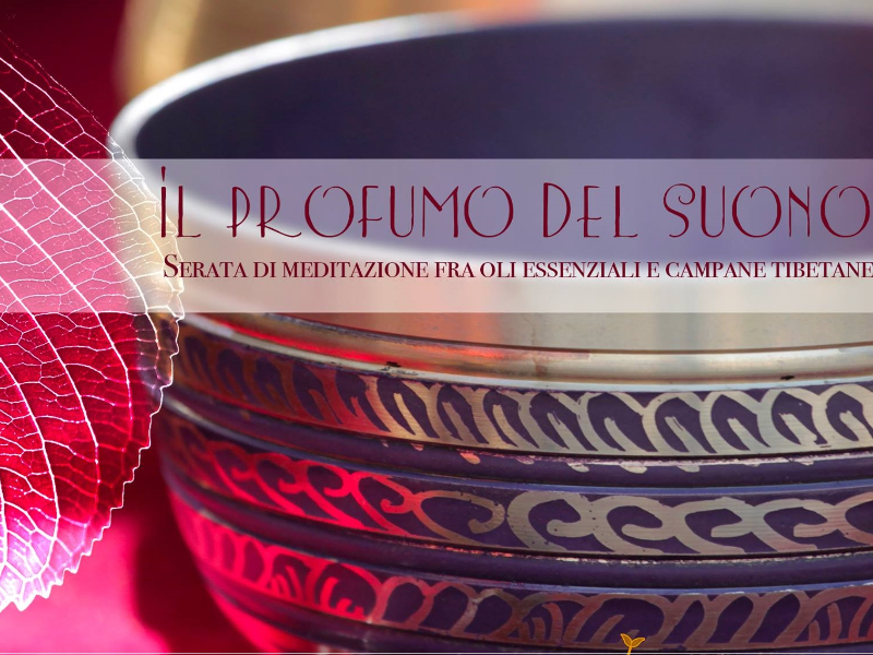 OlisticMap - Viaggio Sonoro: meditazione con campane tibetane ed oli essenziali
