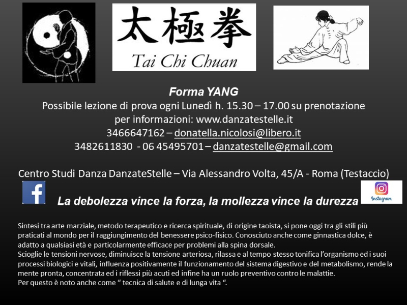 OlisticMap - Tai Chi Chuan Forma YANG