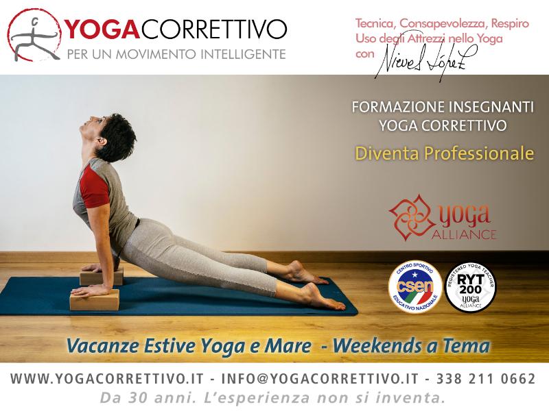 Olisticmap - Yoga correttivo ®  Corso di Formazione Insegnanti Yoga RYT-200