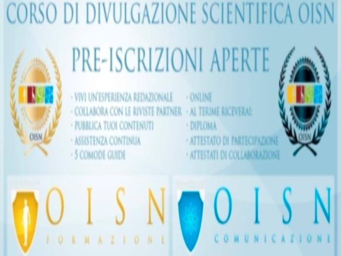Olisticmap - Corso di Divulgazione Scientifica On-Line