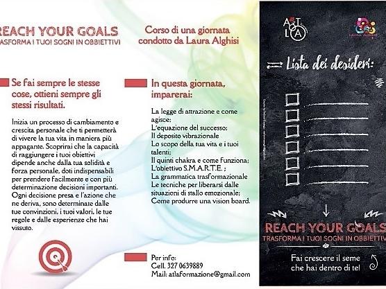 Olisticmap - Reach your goals - trasforma i tuoi sogni in obbiettivi