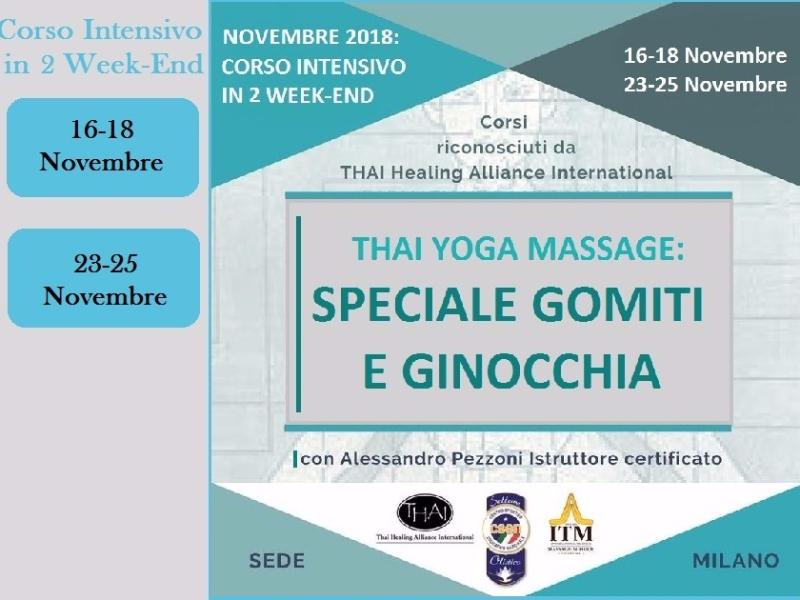 Olisticmap - Formazione Thai Yoga 2018  -  Speciale Piedi, Gomiti e Ginocchia