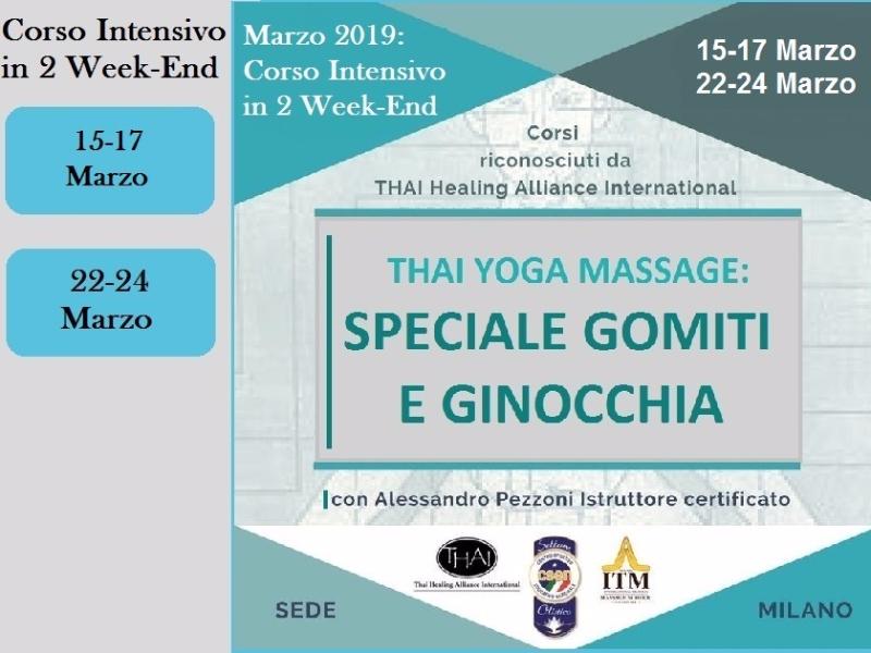 Olisticmap - Formazione Thai Yoga 2019 - Speciale Piedi, Gomiti e Ginocchia