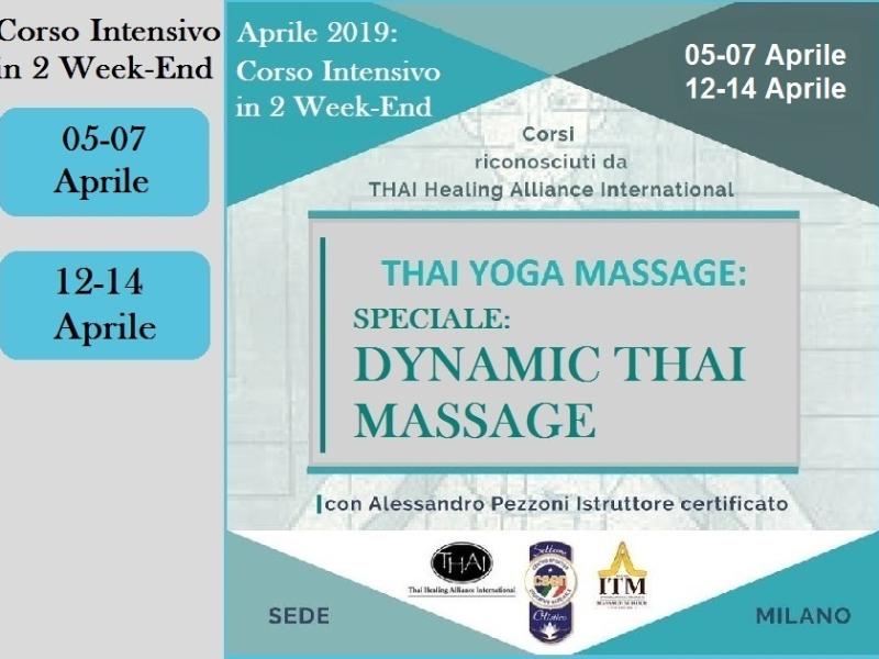 Olisticmap - Speciale Dynamic Thai - Formazione Thai Yoga Massagge - Milano 2019