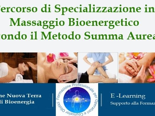 Olisticmap - Specializzazione in Massaggio Bioenergetico, Metodo Summa Aurea®