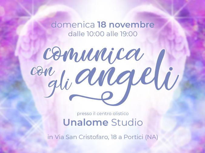 Olisticmap - Comunica con gli Angeli 18/11 - Seminario Teorico/Pratico