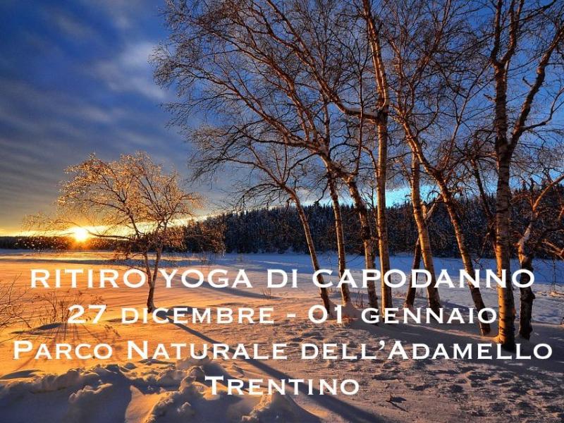 Olisticmap - Capodanno yoga in Trentino