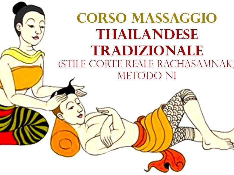 Olisticmap - Corso Massaggio Thailandese stile reale (tradizionale)