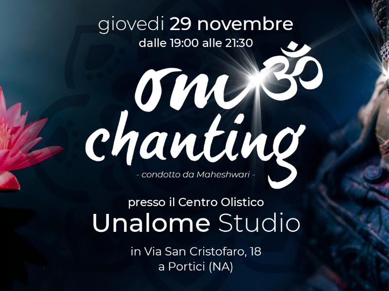 Olisticmap - OM Chanting con Maheshwari il 29.11 - Unalome Studio