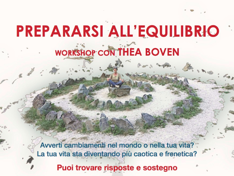 Olisticmap - PREPARARSI ALL'EQUILIBRIO - WORKSHOP CON THEA BOVEN