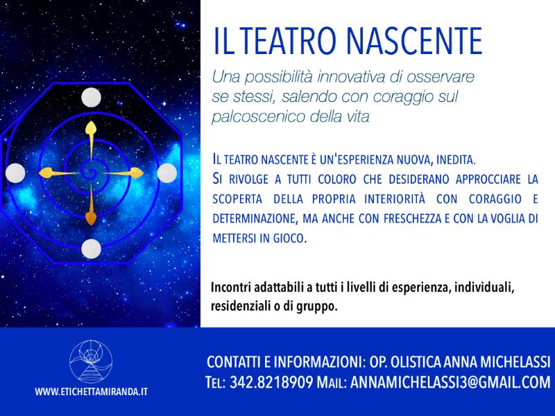 Olisticmap - Il Teatro Nascente