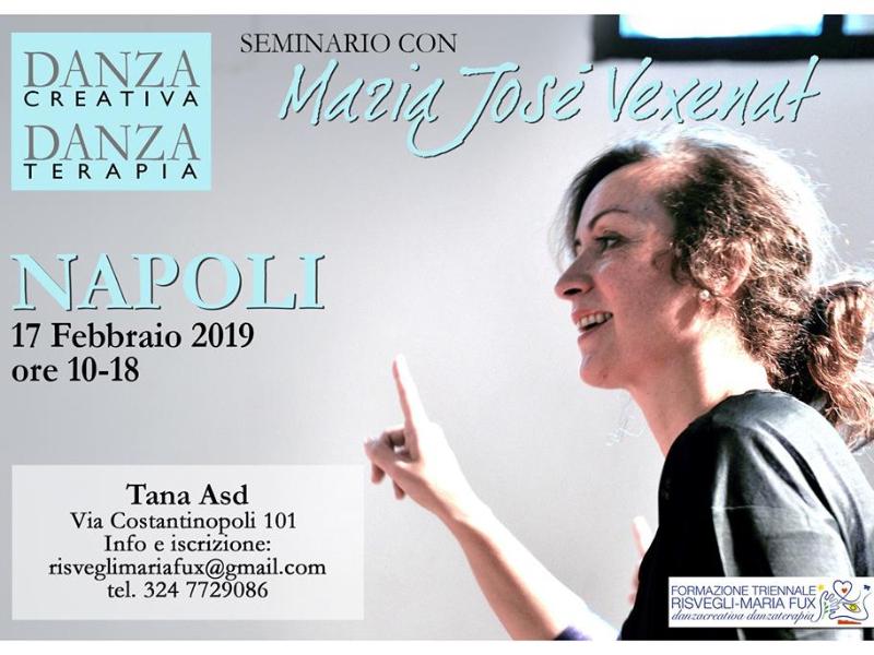 Olisticmap - Danzaterapia-danza creativa Fux con Maria José Vexenat a Napoli