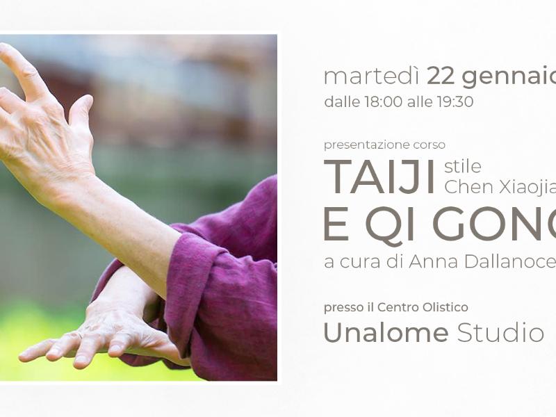 Olisticmap - Presentazione gratuita corso Taiji e Qi Gong - Unalome Studio