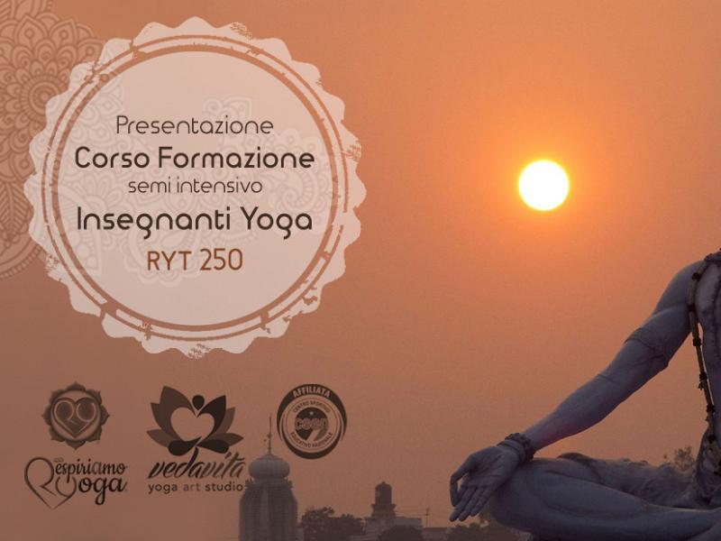 Olisticmap - Corso Formazione Insegnanti Ginnastica Yoga RYT 250