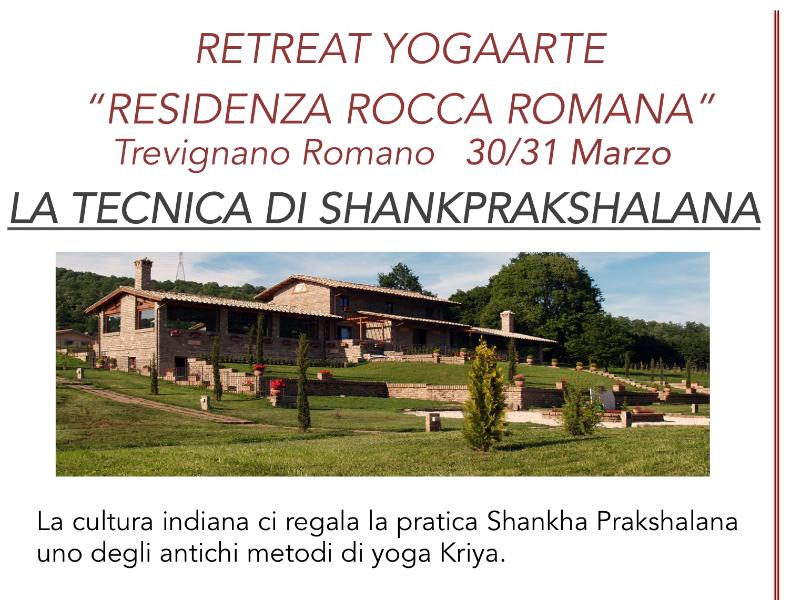 Olisticmap - Retreat YogaArte® Shankha Prakshalana @