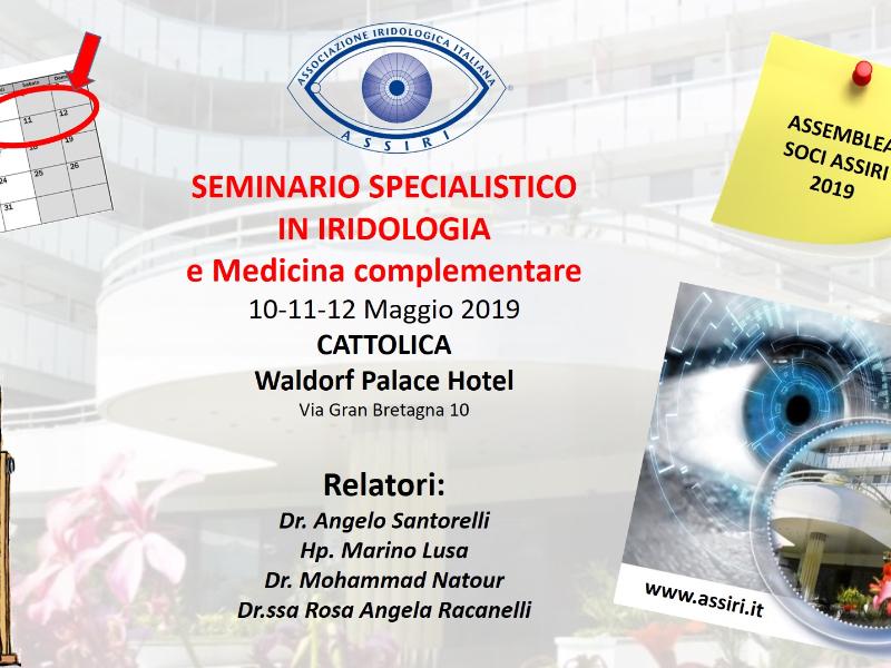 Olisticmap - SEMINARIO SPECIALISTICO IN IRIDOLOGIA