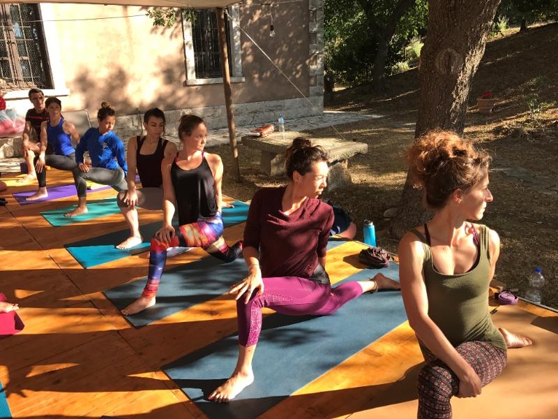 Olisticmap - Corso di formazione insegnanti yoga, I° livello 200h