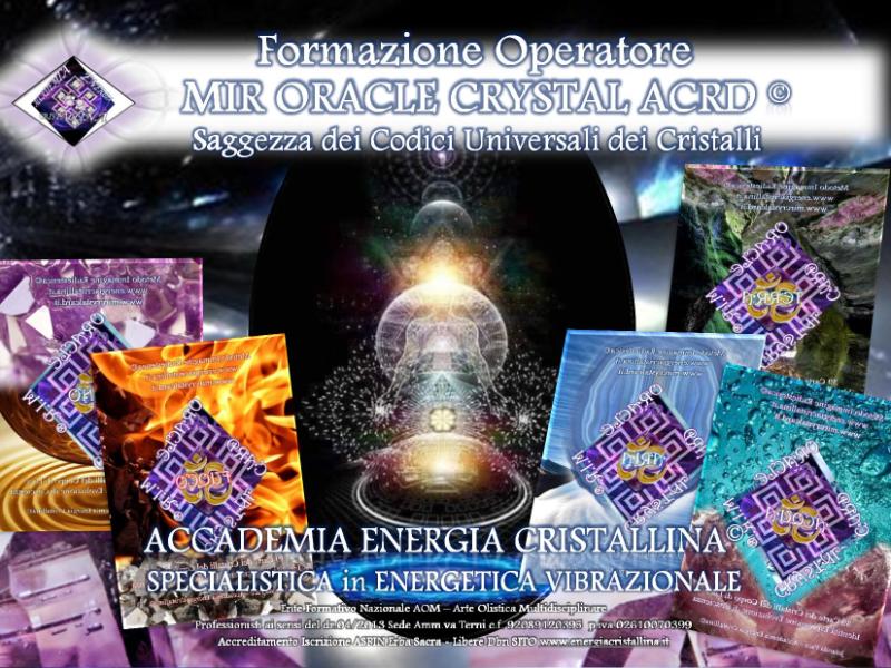 Olisticmap - Mir Oracle Crystal Card & Crystal Balancing