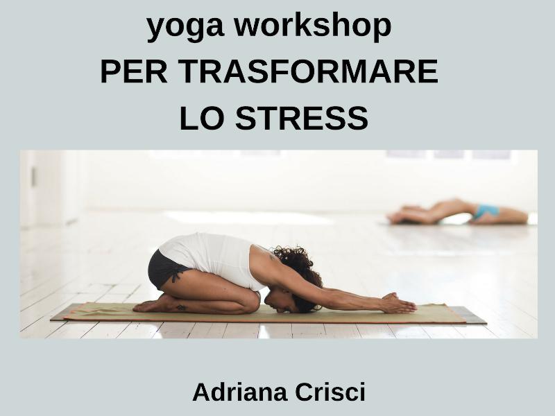 Olisticmap - Shanti Yoga per trasformare lo stress
