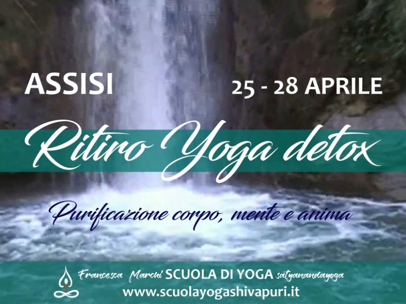 Olisticmap - Assisi Ritiro Yoga detox