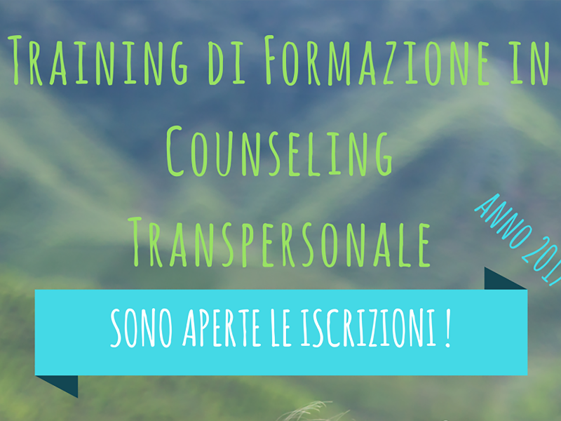 Olisticmap - Training di Formazione in Counseling Transpersonale