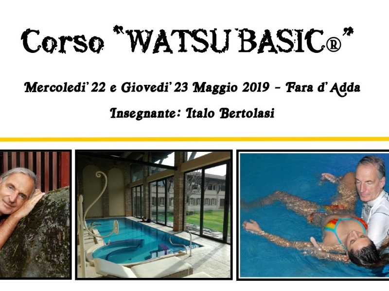 Olisticmap - Corso Watsu® Basic