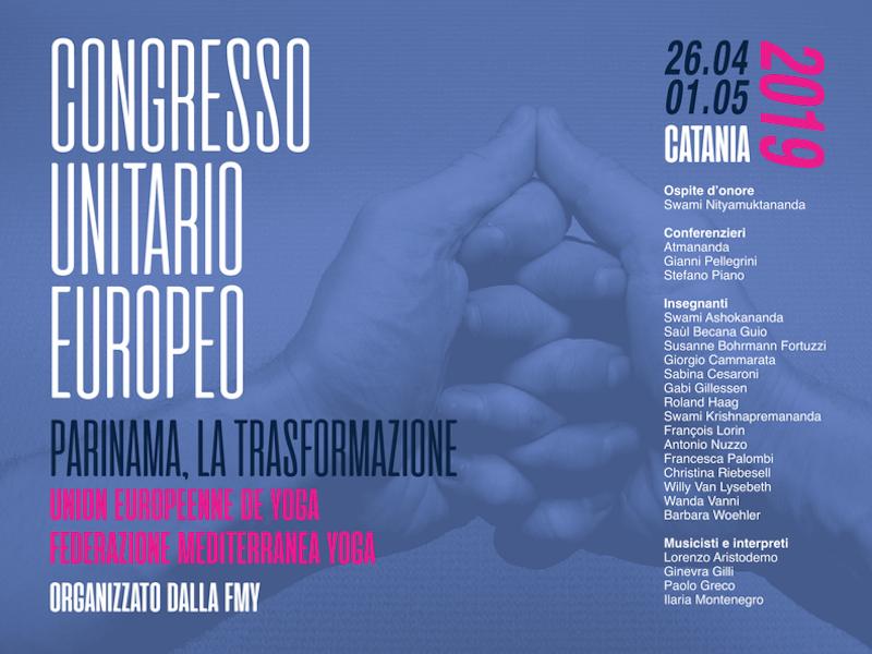 Olisticmap - 1° Congresso Unitario Europeo 2019