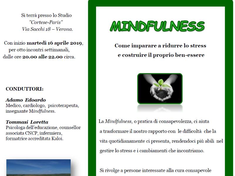 OlisticMap - MINDFULNESS E GESTIONE DELLO STRESS