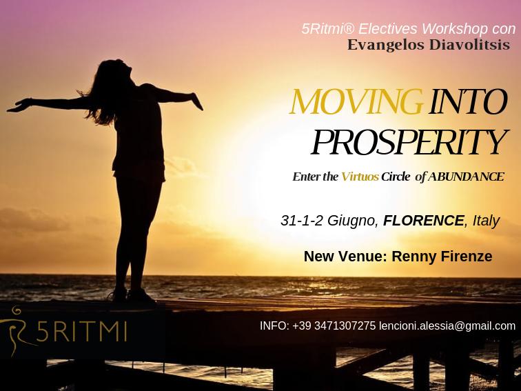 Olisticmap - Moving into Prosperity*Il circolo virtuoso dell'abbondanza