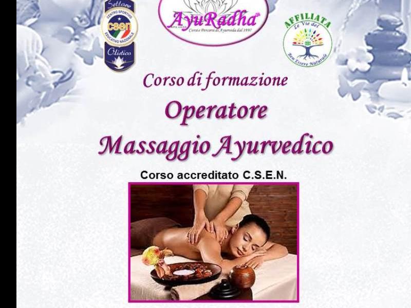 Olisticmap - Corso di formazione per Operatore Massaggio Ayurvedico