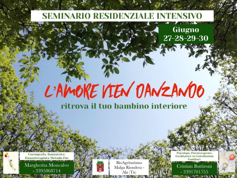 Olisticmap - Seminario residenziale intensivo:  L'amore vien danzando