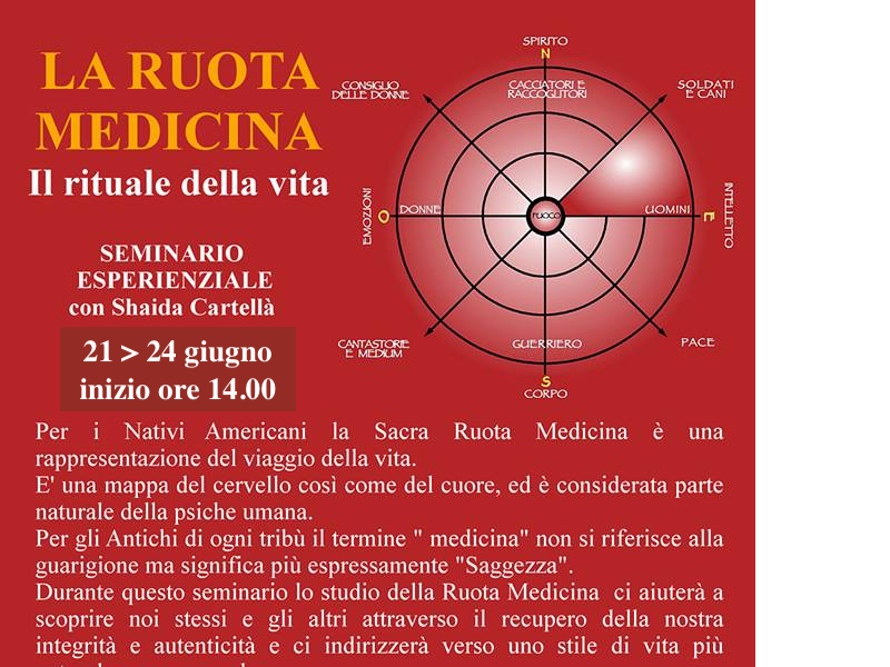 Olisticmap - LA RUOTA MEDICINA