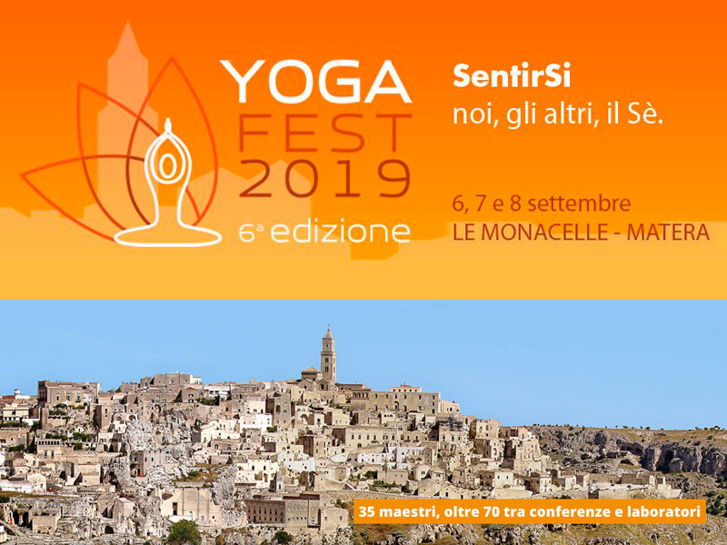 Olisticmap - MATERA YOGA FEST 2019