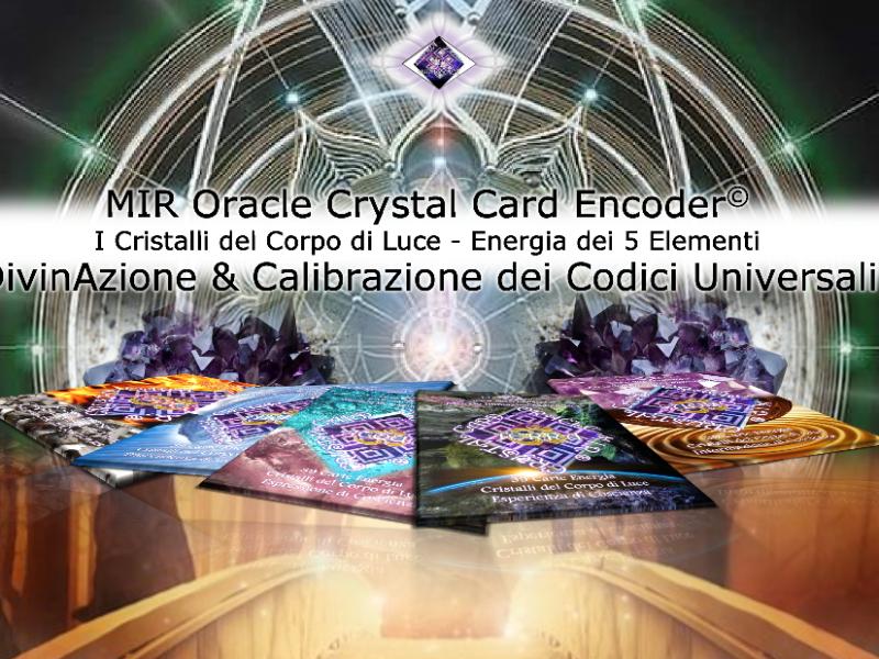 Olisticmap - Conferenze & Incontri in Mir Oracle Crystals Encoder