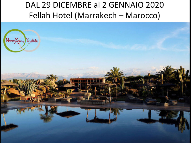 Olisticmap - New Year Retreat con YogaArte, Yoga, Pranayama e Meditazione Marrakech