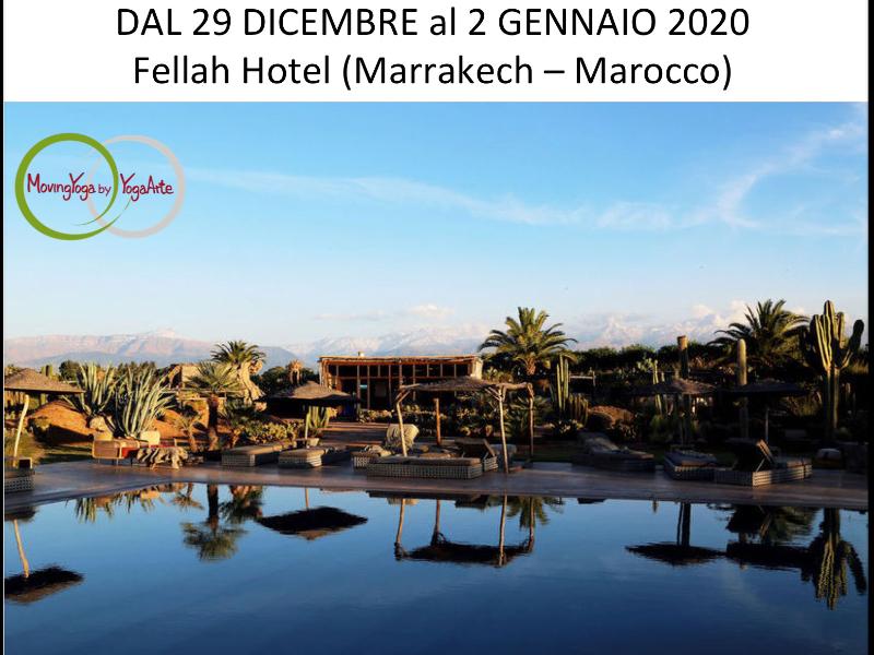 OlisticMap - New Year Retreat con YogaArte, Yoga, Pranayama e Meditazione Marrakech