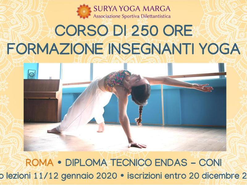 Olisticmap - Corso di 250 ore Formazione Insegnanti Yoga