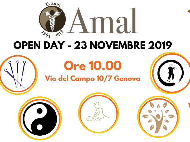 Olisticmap - OPEN DAY -  Scuola Medicina Cinese Genova