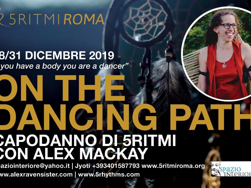 Olisticmap - Capodanno 5Ritmi a Roma con Alex Mackay