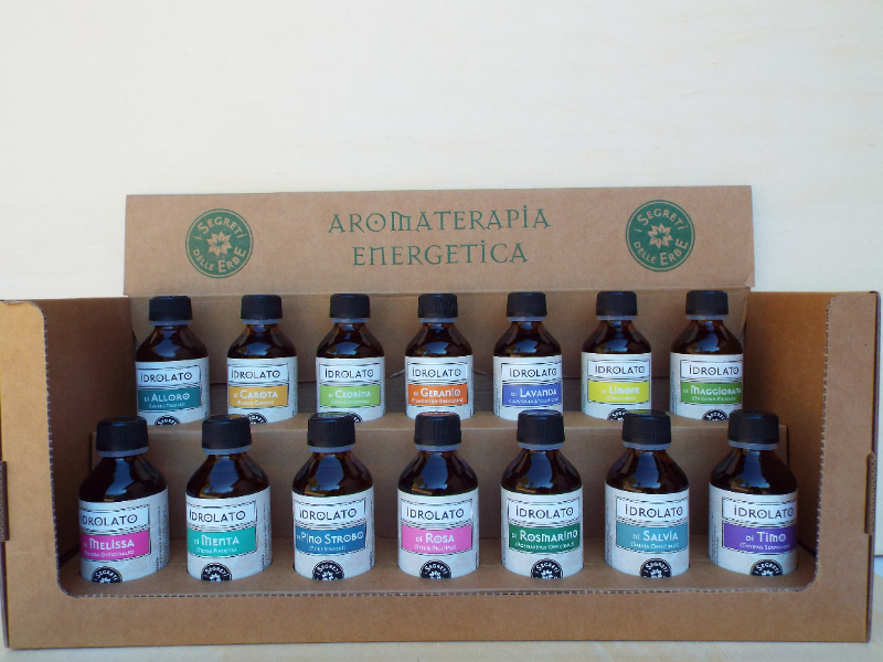 Olisticmap - HEA ( Hydrolates energy aromaterapy)