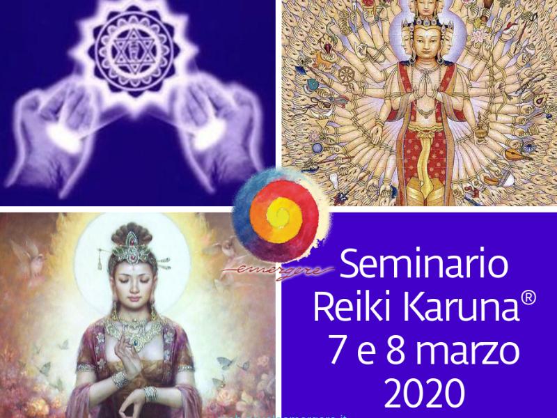 OlisticMap - REiki Karuna® - Seminario 1 e 2 livello